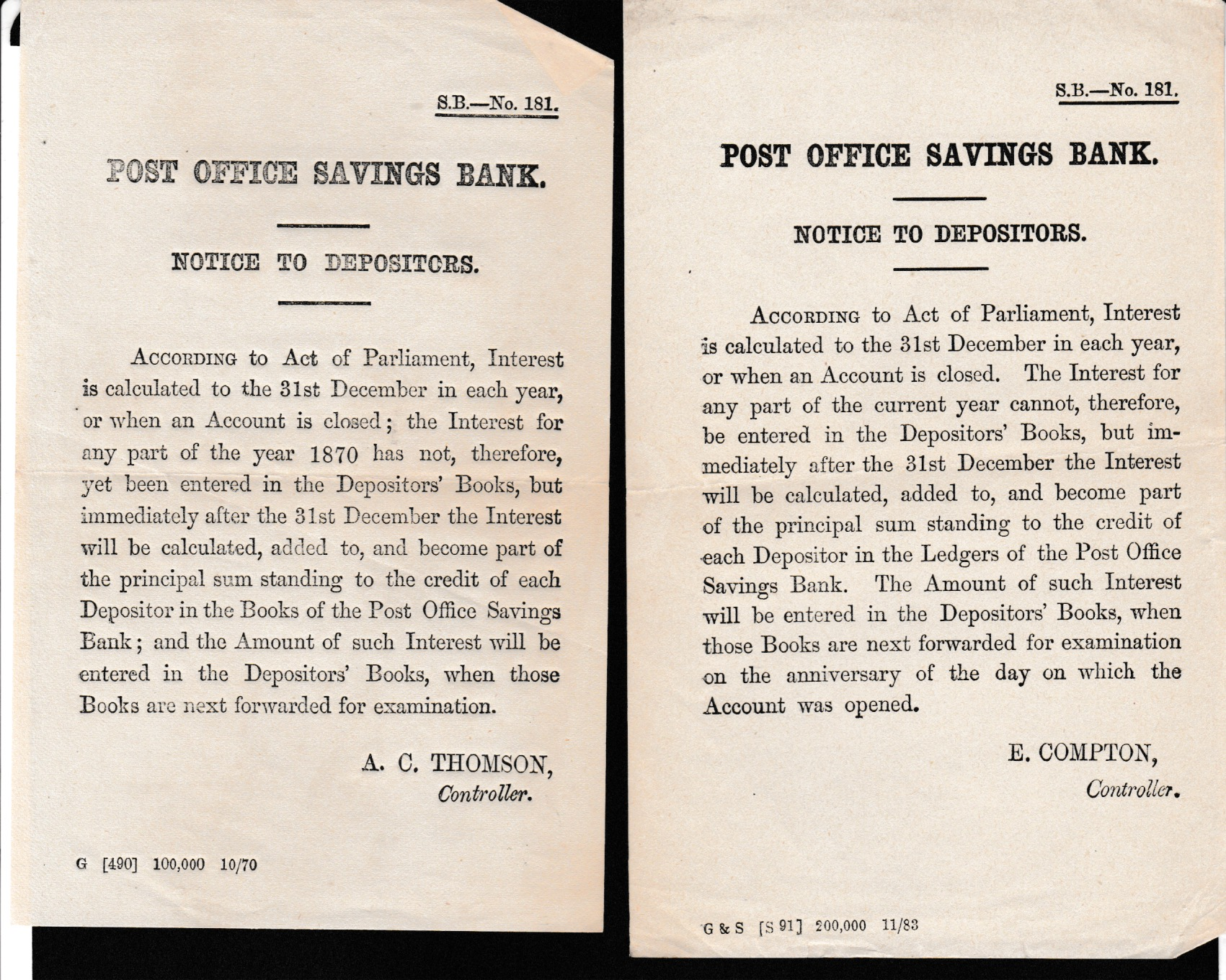 G.B. - Acts & Notices - Image 5 of 6