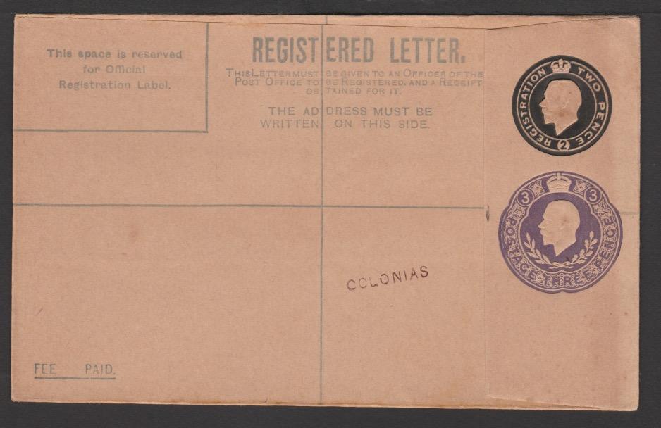 G.B. - K G V Postal Stationery 1921