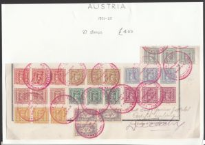Austria 1921-22