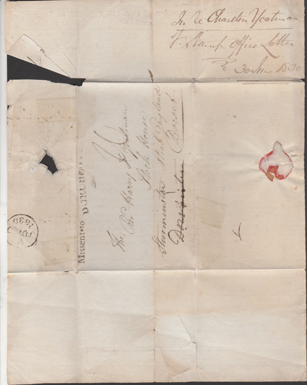 G.B. - Dorset 1830 - Image 4 of 4