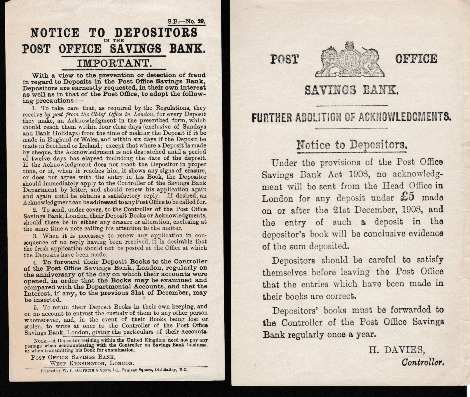 G.B. - Acts & Notices - Image 2 of 6