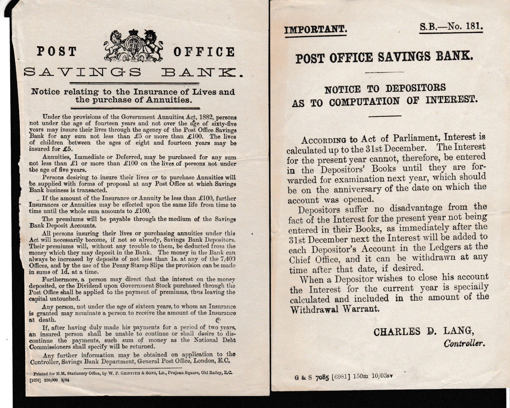 G.B. - Acts & Notices - Image 6 of 6