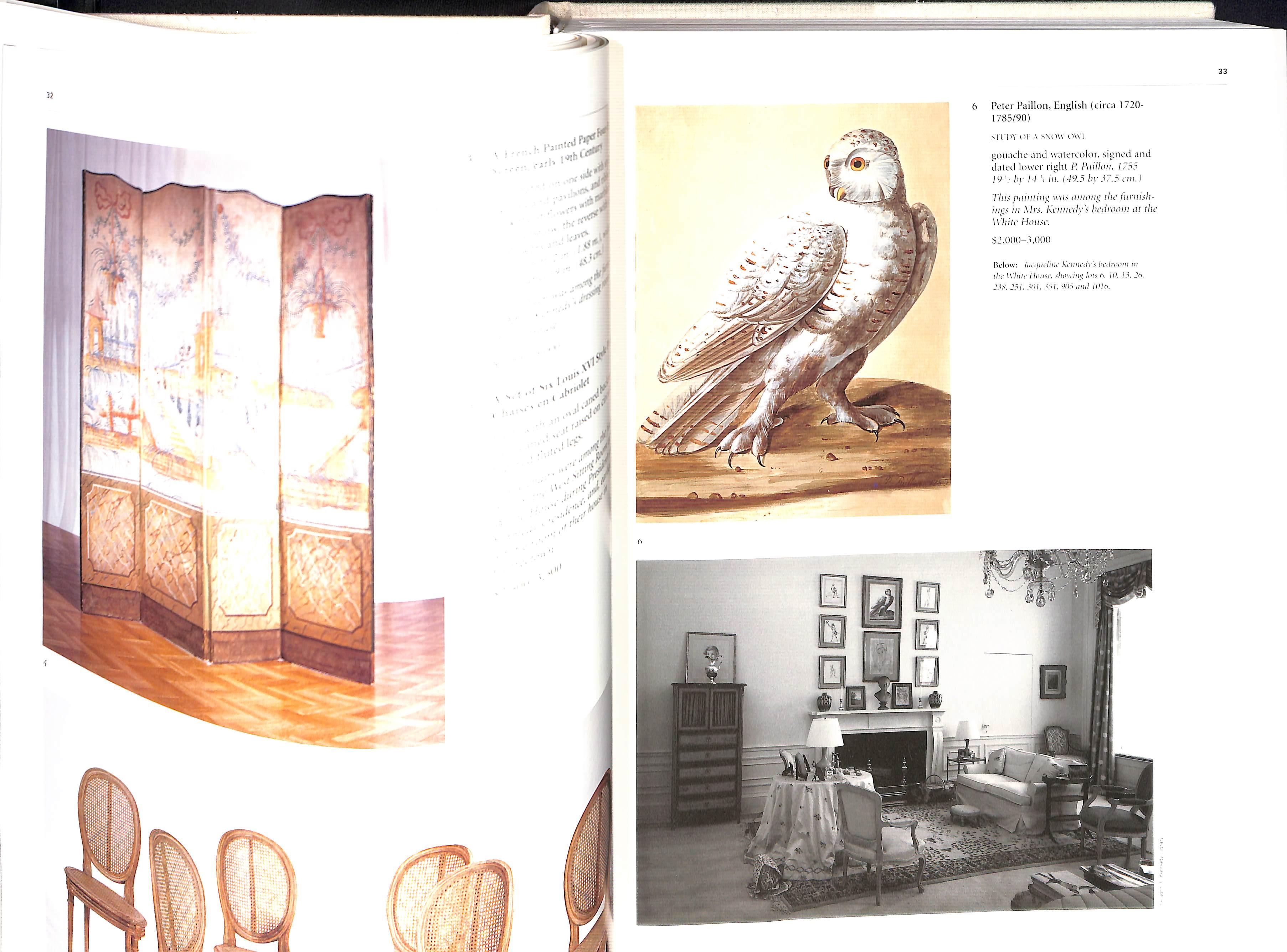 The Estate of Jacqueline Kennedy Onassis April 23-26 1996 Sothebys Hardback pages 584 - Image 9 of 10
