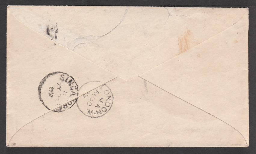 Sarawak / Straits Settlements 1889 - Image 2 of 2