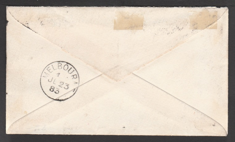 Victoria/G.B.-Surface Printed 1883 - Image 2 of 2