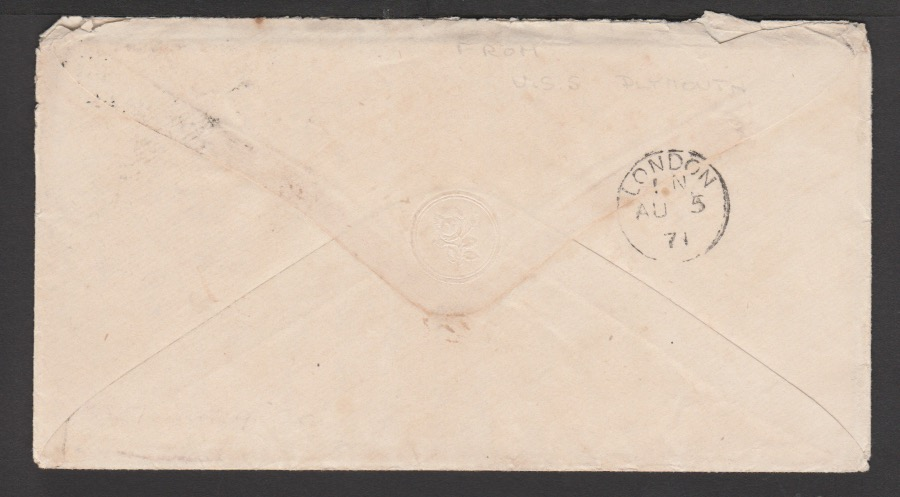 G.B. - Isle of Wight / Surface Printed 1871 - Image 2 of 4
