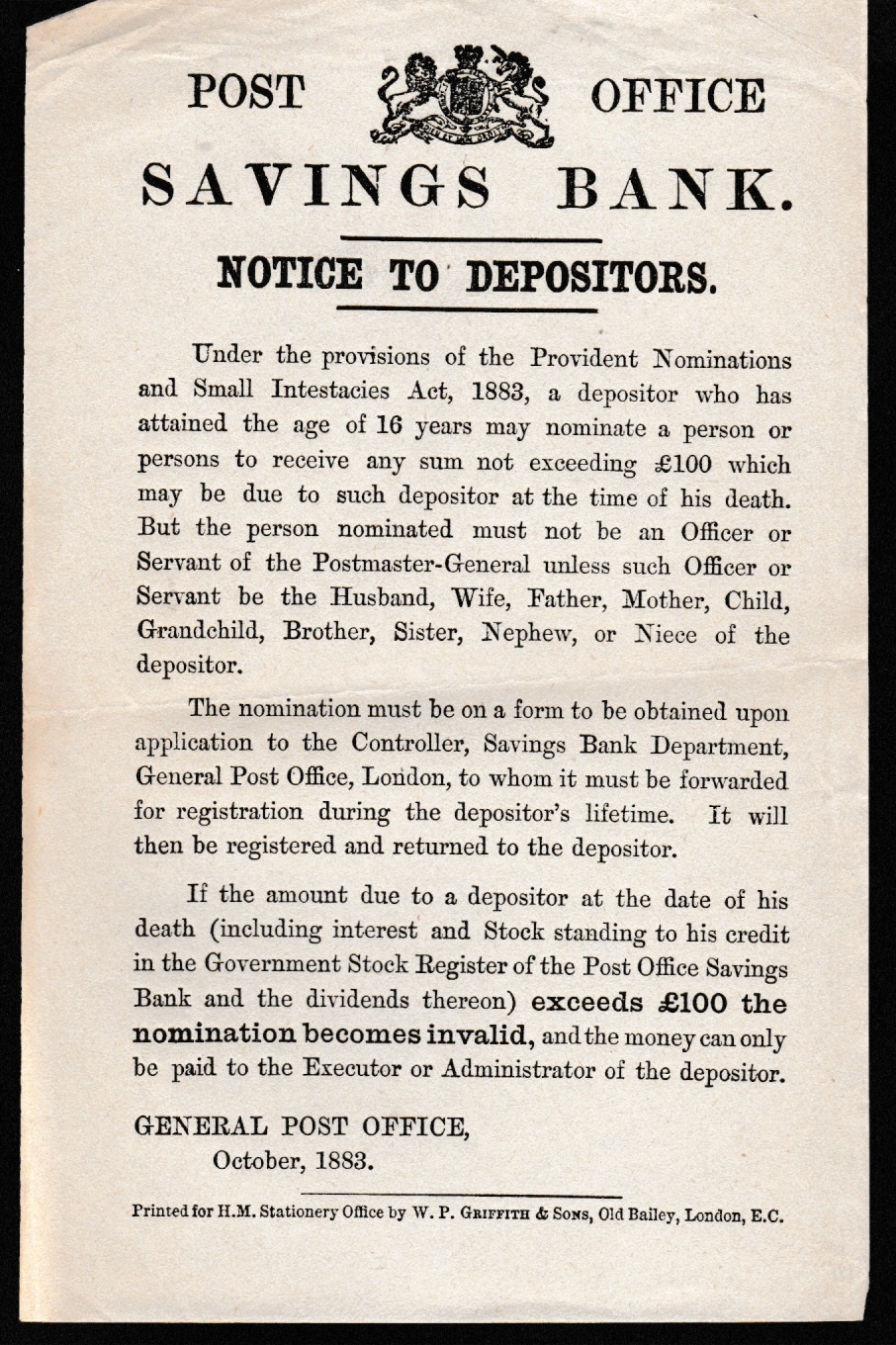 G.B. - Acts & Notices - Image 4 of 6
