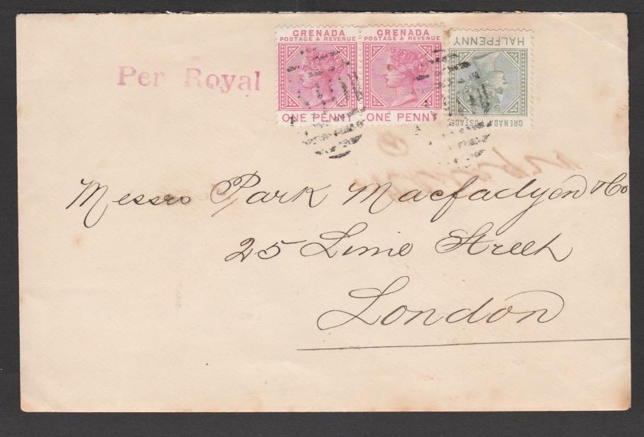 Saint Vincent / Grenada / Trinidad 1896