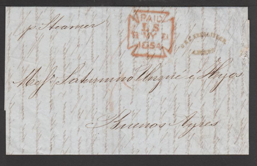 G.B. - London / Forwarding Agents 1854 - Image 2 of 4