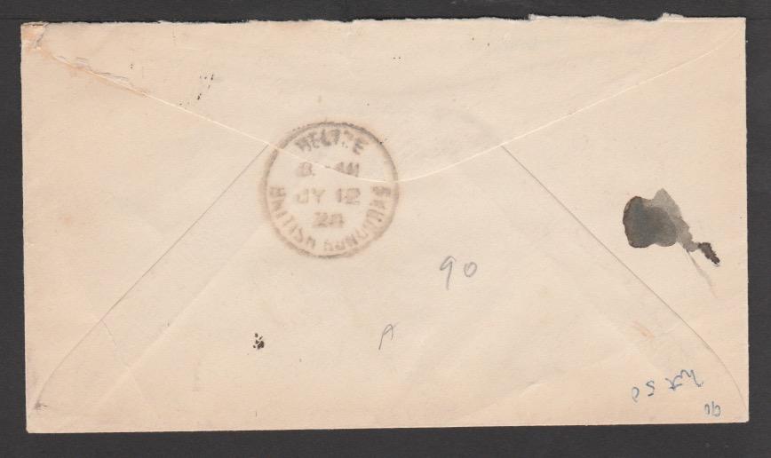 British Honduras 1924 - Image 2 of 2