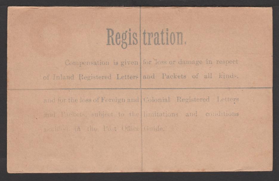 G.B. - K G V Postal Stationery 1921 - Image 2 of 2