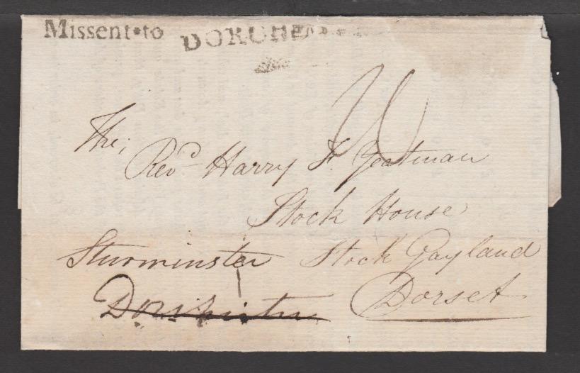G.B. - Dorset 1830