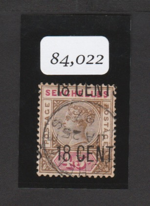 Seychelles 1896