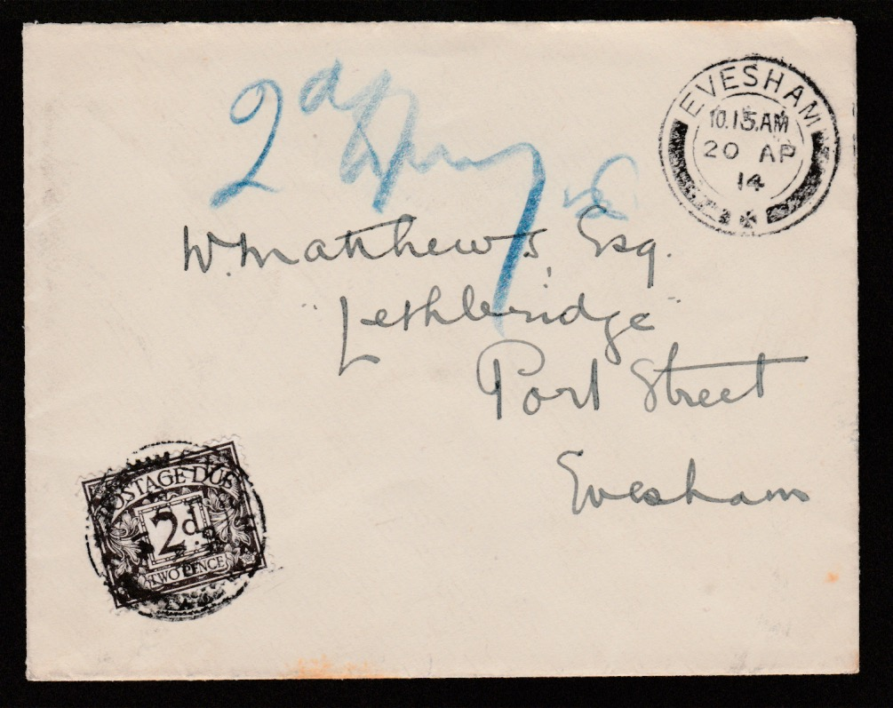 G.B. - First Day Covers 1914 (Apr. 20)