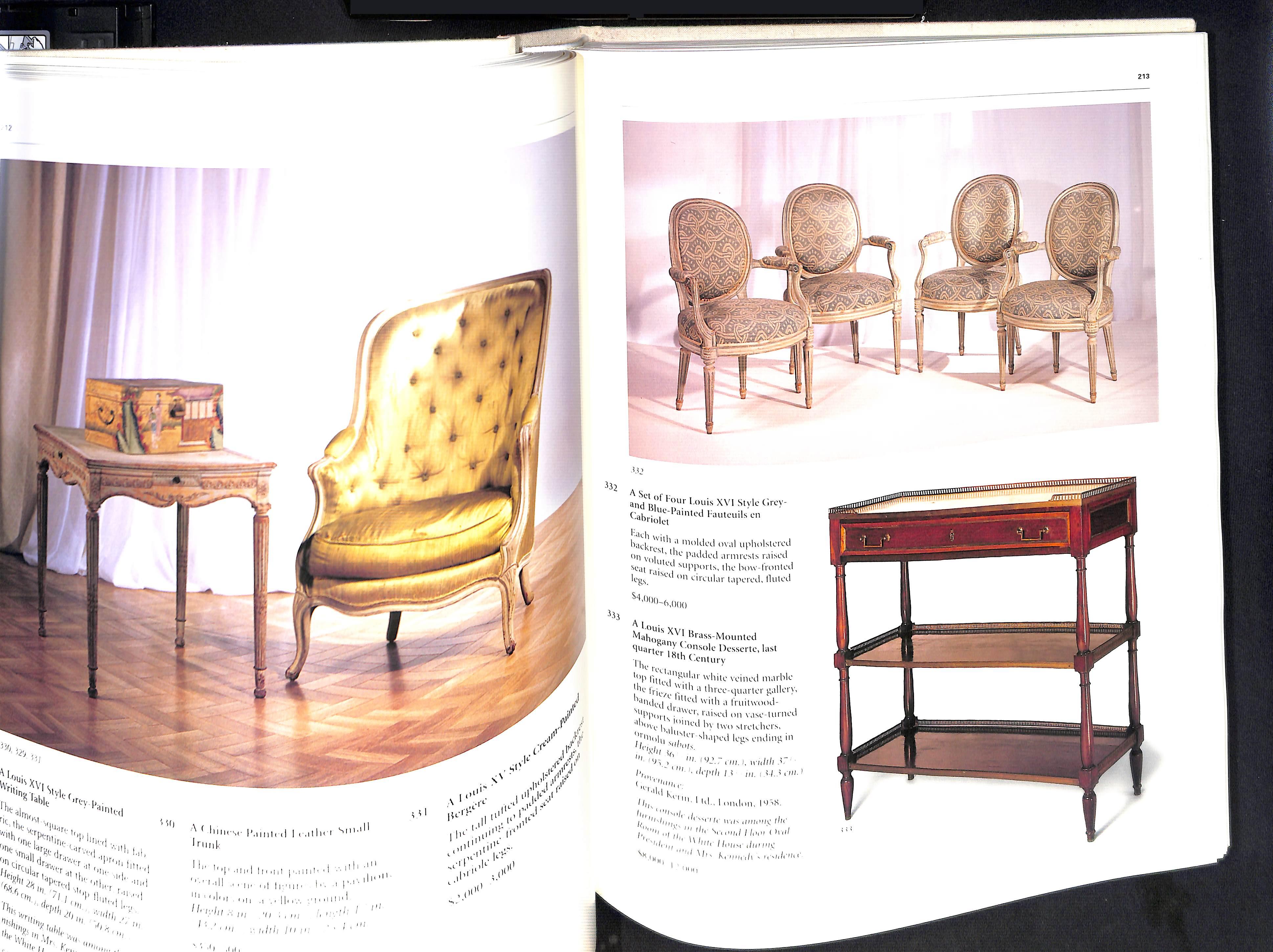 The Estate of Jacqueline Kennedy Onassis April 23-26 1996 Sothebys Hardback pages 584 - Image 7 of 10