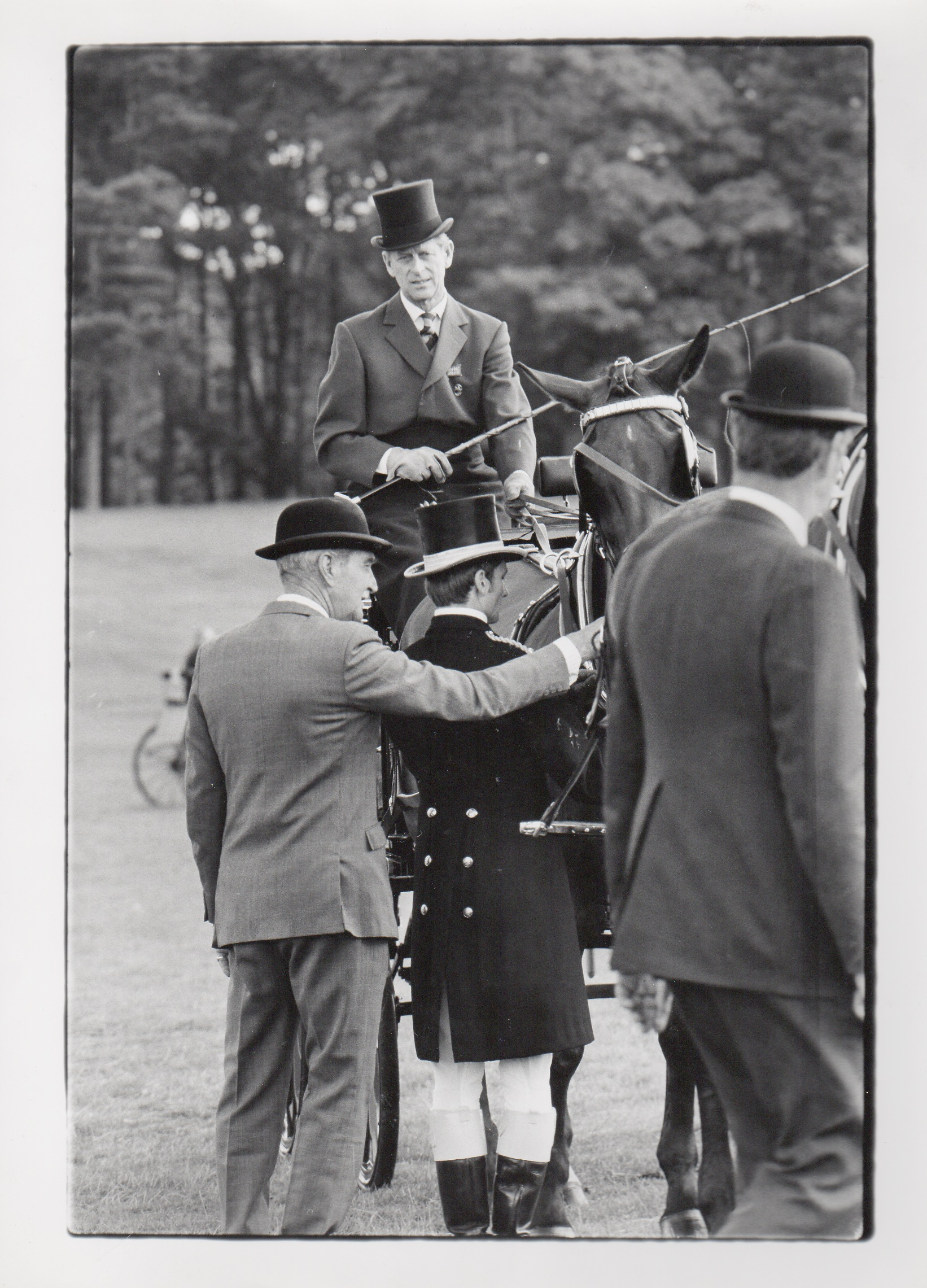 Royalty Prince Philip at Tatton Park, Cheshire 18/7/1981