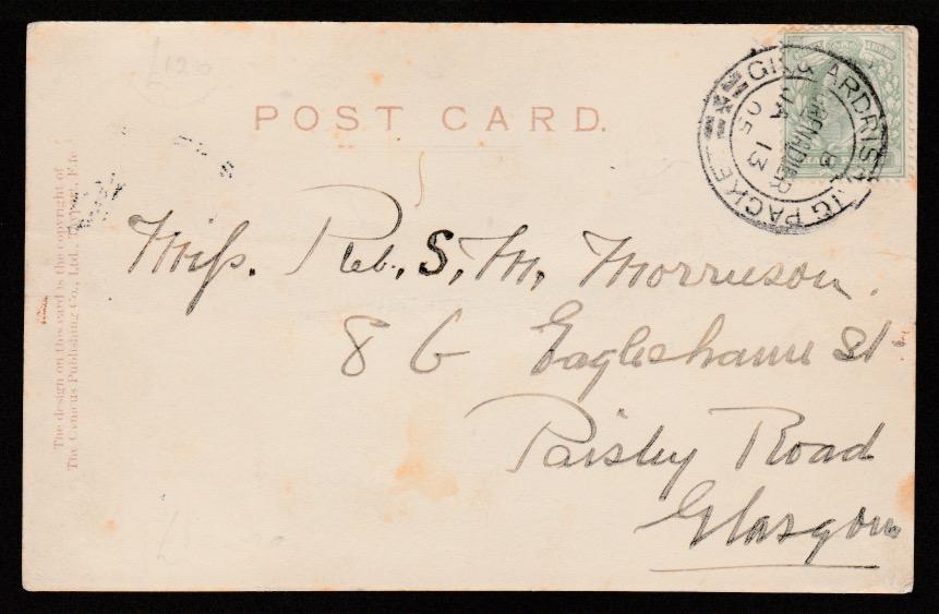 Great Britain / Greenock & Ardrishaig Packet 1905