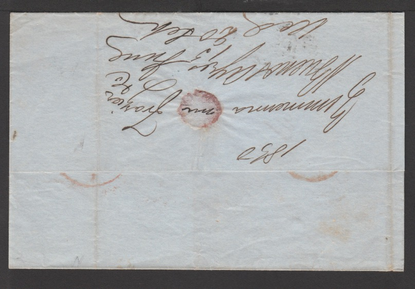 G.B. - Ireland - Ship Letters - Queenstown 1850 - Image 2 of 2