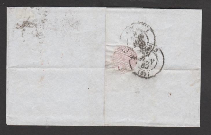 G.B. - Surface Printed 1860 - Image 2 of 2