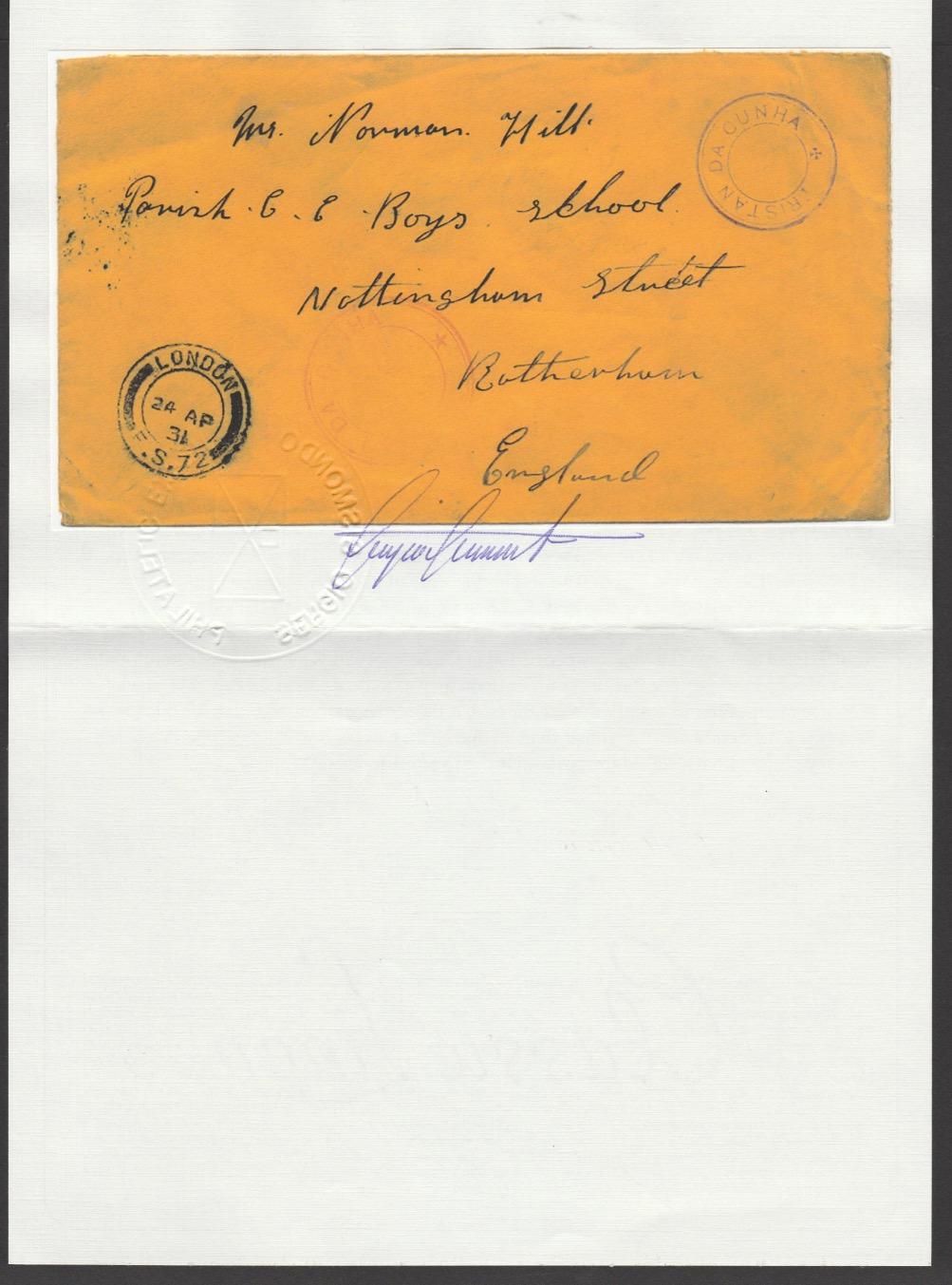Tristan Da Cunha 1931 - Image 4 of 4