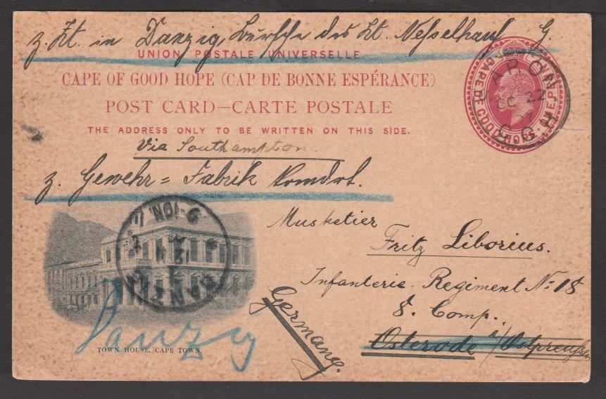 Cape of Good Hope / Danzig 1907