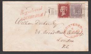 G.B. - Registered / Scotland 1857