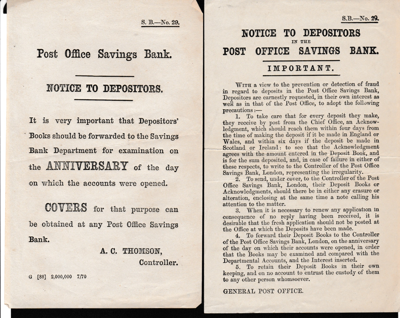 G.B. - Acts & Notices - Image 3 of 6