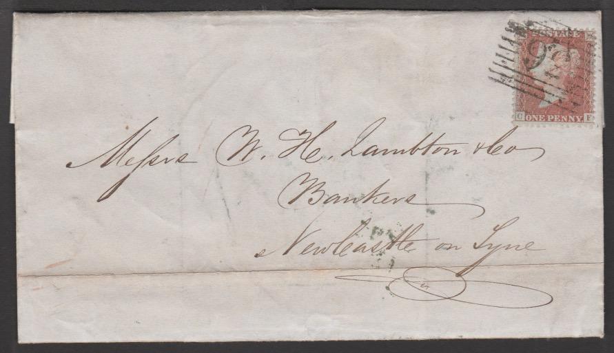 G.B. - Ireland 1856