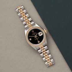 Rolex Datejust 26 79173 Ladies Stainless Steel Diamond Watch
