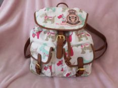 Miss Melody London Rucksack. RRP £24.99. Brand New
