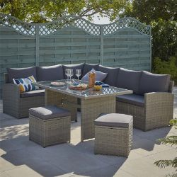 No Reserve Homebase Returns Sale | Featuring Rattan Furniture and Garden Sheds
