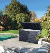 (R10) Garden. 1 X Keter Ontario XXL Box (H86 X D83 X L147cm) RRP £335