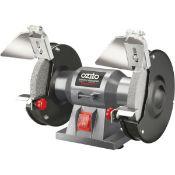 (R9D) 1 X Ozito Bench Grinder 150mm OZBG150WAU (Ex Display. Power Cable Cut. Appears Unused)