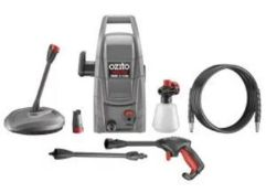 (R9B) 1 X Ozito High Pressure Cleaner With Patio Head 1300W 100 Bar