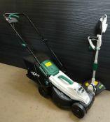 (R9B) 1 X Qualcast 20V Lawn Mower 300mm A022029. Missing Battery. (Ex Display. Appears Unused)
