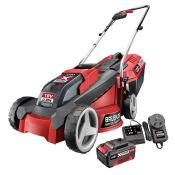 (R9B) 1 X Ozito Power Xchange 18V Cordless Lawn Mower 30cm. Incomplete. Missing Battery & Grass Box