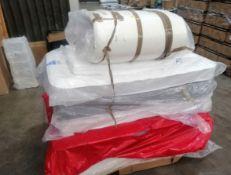 Customer Return Mattresses, Memory Foam Double, Single Cot Bed - 7 Items - RRP £503 - P188