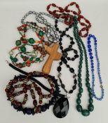 Costume Jewellery Vintage Parcel of Necklaces etc