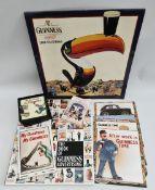 Collectable Assorted Guinness Memorabilia & Book