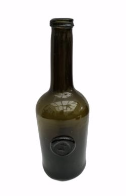 Antique Wine Bottle c1790's Edgcume Family Seal