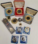 Collection of Vintage Doberman Dog Show Medals