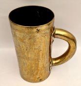 Antique Victorian Brass Grain or Corn Measure 3 Pint & 1.5 Pint