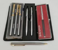 Parcel of Assorted Pens Includes Fountain Pen & Sheaffer Pen