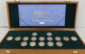 Royal Mint A GOLDEN FINALE Half Sovereign Collection 1900-1915 Luxury Case