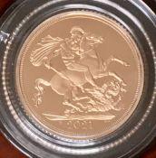 2021 Elizabeth II Gold Proof Sovereign & Gold Proof Half Sovereign Privy Marks