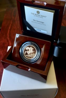2021 Elizabeth II Gold Proof Sovereign Privy Marks Original Royal Mint Packaging