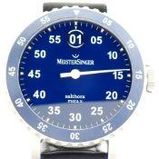 Meistersinger / Salthora meta X 43 mm - Gentlemen's Steel Wrist Watch