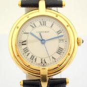 Cartier / Panthere Ronde Solid 18K - Lady's Yellow gold Wrist Watch