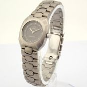 Omega / Seamaster Titan 120m - Lady's Titanium Wrist Watch