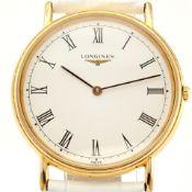 Longines / La Grande Classique - L4.637.2 - Gentlemen's Steel Wrist Watch